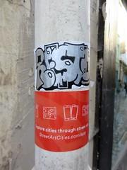 Resto / Serpentstraatje - 14 okt 2018 (Ferdinand 'Ferre' Feys) Tags: ghent gand belgium belgique belgië streetart artdelarue graffitiart graffiti graff urbanart urbanarte arteurbano ferdinandfeys resto sticker gent