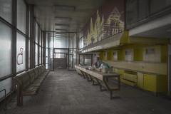 waiting room (jkatanowski) Tags: forgotten decay abandoned lost urbex urban exploration europe indoor window sony a7m2 1740mm uwa windows dead plants room hdr