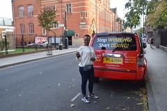 DSC_1064 Shoreditch London Pittfield Street with Dee from Botswana Stop Wishing Start Doing PT 5IANA (photographer695) Tags: shoreditch london pittfield street with dee from botswana stop wishing start doing pt 5iana