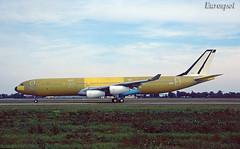 F-GNIH Airbus A340 Air France (@Eurospot) Tags: fgnih airbus a340 a340300 airfrance lfbo toulouse blagnac