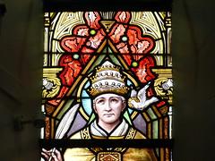 Church - St Andrews Catholic, Braemar 180711 [Stained Glass Window 2b] (maljoe) Tags: church churches braemar stainedglasswindow stainedglass stainedglasswindows
