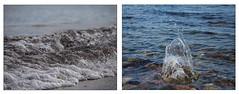 Ostsee  in 2 Variationen ;-) (mohnblume2013) Tags: wasser meer brandung ostsee schleswigholstein steine strand