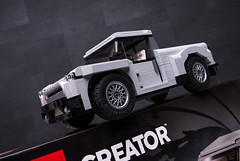 10262 Pick UP (KEEP_ON_BRICKING) Tags: lego creator expert set mod moc alternative rebuild car legomoc legocar pickup pickuptruck custom design 2018 keeponbricking