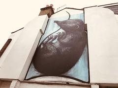 Roa in the back streets of Peckham (Matt From London) Tags: peckham london roa streetart mouse mural