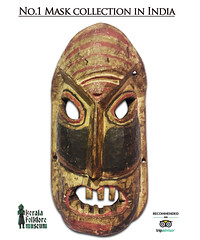 mask-wood (afebin@ymail.com) Tags: antique mask collections