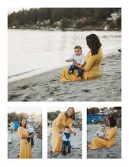Ramirez Collage 1 (ChristieCFox) Tags: children baby oneyearold beach bainbridgeisland poulsbo kitsap kitsapphotographer family motherandson