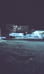 Blue Note (stevenguz) Tags: portra 35mm film analog developer blue bluenote night gasstation cold portra160 kodak kodakportra160 street streetphotography contrast composition mjuii mjuii115vf remjet