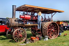 Port Huron 1a No. 7005 (edit) (MO FunGuy) Tags: steamengine oldthreshers antique tractor missouri