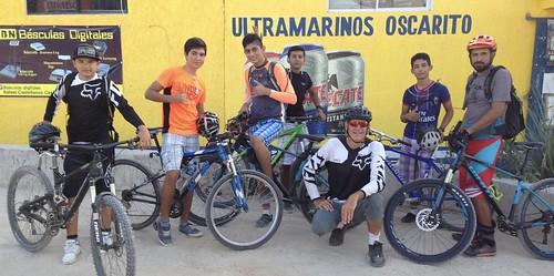 Saturday mornings we meet at Oscaritos to ride
