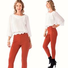 Blusa em chiffon com elásticos na bainha e decote com laço (comprar aqui: https://tinyurl.com/y8l7vnwh); Calça em malha crepe com botões bolsos (comprar aqui: https://tinyurl.com/yb7x2sut); Disponível na loja de Vila Nova de Gaia e na loja online http://w (pauloneves866) Tags: pants trend lookbook womensstyle blog womenlook fashionstyle trendy fall white newcollection zumbiurbanglamour fashionpost gifts blouse fashionweek moda look fashionable orange fashiondiaires zumbi fashionblogger fashion fallcollection fashionaddict