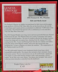 Paper Route Packard (ilgunmkr - Mourning The Loss Of My Wife Of 52 Year) Tags: carshow sandwichillinois 2018 packard packardmotorcompany packard8 1932 phaeton askthemanwhoownsone