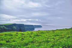 Cliffs are meant (gusdiaz) Tags: ireland cliffs moher cliffsofmoher mountains ocean sea storm green greenery vegetation grass pasto montañas climb hike sendero senderismo vacation summer verano gorgeous verde vegetacion stunning beautiful hermoso irlanda roadtrip adventure