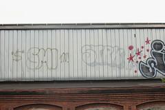 Sml, Strk (NJphotograffer) Tags: graffiti graff new jersey nj trackside rail railroad rooftop sml strk