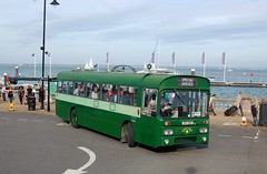 By RP to the sea. (Renown) Tags: bus dp coach dualpurpose aec reliance ah691 6u2r parkroyal rpclass jpa190k rp90 iow isleofwight beerbuses 2018 cowes preserved preservation heritage restored cobham museum