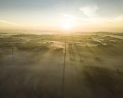 Beautiful Sunrise... (c_friebel) Tags: daylight drone nebel sonnenaufgang fog sunrise