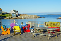 DSC03175 - Entrance of the Cove (archer10 (Dennis) 196M Views) Tags: sony a6300 ilce6300 18200mm 1650mm mirrorless free freepicture archer10 dennis jarvis dennisgjarvis dennisjarvis iamcanadian novascotia canada peggyscove fishing village adirondackchair