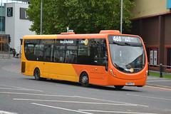 Transdev Rosso Wrightbus 606 SN64CTE - Bury (dwb transport photos) Tags: transdev rosso wrightbus streetlite bus 606 sn64cte bury