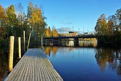 Joensuu - Finland (Sami Niemeläinen (instagram: santtujns)) Tags: joensuu suomi finland pielisjoki syksy autumm north carelia pohjoiskarjala