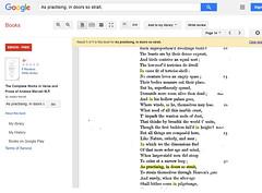 As practising, in doors so strait (Nelley) Tags: wordstudy strait bookpage text literature poeticalworks andrewmarvell grammar study wordsphrase poem poet verse british publicdomain ebook googleplay