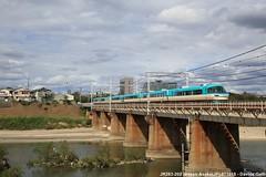 JR 283-202 (Davuz95) Tags: asaka station stazione jr 202 283 hanwa line yamato river west giappone osaka sakai