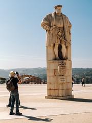 D. Joáo III (Poul_Werner) Tags: coimbra portugal vitusrejser 53mm ferie rejse travel cantanhede coimbradistrict pt