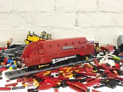 Overhaul: Coronation Class (Britishbricks) Tags: british engine train steam duchessofhamilton coronationclass lms wip lego