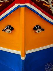 Eyes (Salvatore Iozzi) Tags: boat luzzu malta msida colours