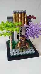 Elrond (LegoHobbitFan) Tags: lego lotr lordoftherings hobbit elf rivendelle vinette elrond