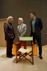 The Establishing Shot : STANLEY KUBRICK: THE EXHIBITION & THE DESIGN MUSEUM 2019 EXHIBITION PROGRAMME ANNOUNCEMENT - ALAN YENTOB, JAN HARLAN & STUART BROWN WITH STANLEY KUBRICK'S DIRECTORS CHAIR - DESIGN MUSEUM, LONDON (Craig Grobler) Tags: ckc1ne craiggrobler craigcalder london film uk theestablishingshot wwwtheestablishingshotcom theestshot attheestshot thestanleykubrickexhibition stanleykubrick exhibition filmexhibition designmuseum sony sonyalpha77 alpha77 panel props filmprops filmmaking janharlan alanyentob deyansudjic stuartbrown bfi aliceblack justinmcgurick mars