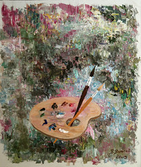 Palette By Vladimir Volosov, Oil Painting (katalaynet) Tags: follow happy me fun photooftheday beautiful love friends