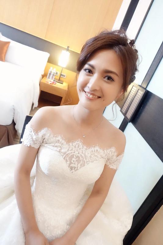 婚禮造型 yaya玲雅 新娘秘書@宜蘭晶英婚禮