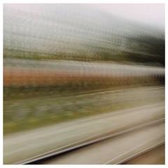 Traveling #train #zug #reise #tracks #gleise #langzeitbelichtung #longtimeexposure #schienen #vsco #vscocam #speed #geschwindigkeit #deutschebahn #südostbayernbahn #münchen #munich