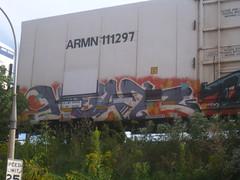 HEAT (Billy Danze.) Tags: freight graffiti heat tci