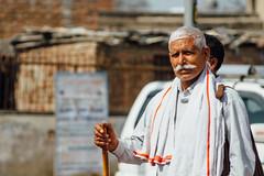 Mustachioed Pilgrim, Uttar Pradesh India (AdamCohn) Tags: adam cohn uttar pradesh india mathura vrindavan cane holi mustache pilgrim wwwadamcohncom adamcohn uttarpradesh isapurbanger