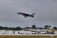170404_054_SnF_PatrouilleDeFrance (AgentADQ) Tags: patrouille de france armee lair french ir force air show airshow alphajet jet trainer military aviation airplane plane sun n fun flyin expo lakeland linder airport florida 2017