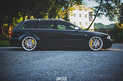 AUDI RS4 B5 (JAYJOE.MEDIA) Tags: audi rs4 b5 low lower lowered lowlife stance stanced bagged airride static slammed wheelwhore fitment ozwheels