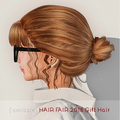 {amiable} HAIR FAIR 2018 GIFT HAIR. (nodoka Vella) Tags: hiarfair hairfair2018 amiable {amiable} sale nodoka nodokavella event free freebie gift prize ヘアフェア 2018 セカンドライフ secondlife sl blonde sim