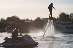 Flyboarding (PaulHoo) Tags: nikon d750 2018 water speed splash jetski flyboard action sport adventure vinkeveen people
