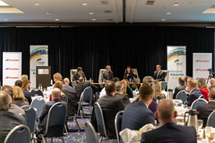 Transforming Airport City (mastermaq) Tags: edmonton edmontonchamberofcommerce airportcity flyeia edmontonchamber events