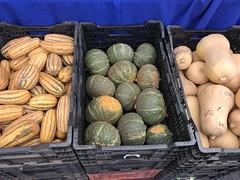 Fall squash at Garden Of ..... (TomChatt) Tags: food farmersmarket