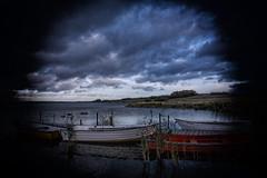 Glenstrup Sø - Både ved anløbsbro 2 (Walter Johannesen) Tags: glenstrup sø landskab eftermiddag vand både joller