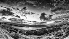 embalse del Tominé - reservoir Tominé in black and white (Luis FrancoR) Tags: embalsedeltominéreservoirtominéinblackandwhite blanconegro blancoynegro blackwhite white colombia ngw ng ngc ngs ngd ngg water sunset