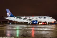 Air Cairo SU-BPU HAJ at Night (U. Heinze) Tags: aircraft airlines airways airplane planespotting plane flugzeug haj hannoverlangenhagenairporthaj eddv nikon