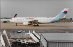 F-BUAL Airbus A300 Air Inter (graham19492000) Tags: fbual airbus a300 airinter