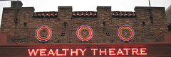 Wealthy Theatre - detail (Bruces 51) Tags: wealthy theatre grand rapids michigan marquee