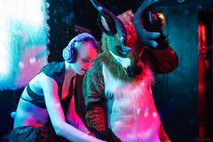 DSC07920 (Kory / Leo Nardo) Tags: frolic party frolicparty fur furry fursuit fursuiting sona fursona sanfrancisco california bar club theeaglebar eagle 2018 dance dj pupleo
