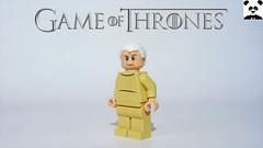 35 - High Sparrow - His High Holiness (HaphazardPanda) Tags: lego figs fig figures figure minifigs minifig minifigures minifigure purist purists character characters films film movie movies tv show shows toy game thrones castle black the wall stark snow baratheon tully riverrun lord house tyrell high sparrow his holiness faith seven iron throne