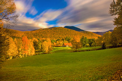 Fall Scene in Vermont (mikelan1986) Tags: fall forest longexposure clouds nature natural usa amazing beautiful beauty landscape trees travel tourism sunset sun