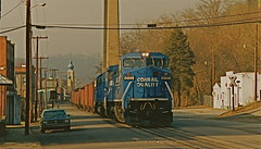 CR # 6135/Happy Anniversary, ConRail (THE RESTLESS RAILFAN) Tags: