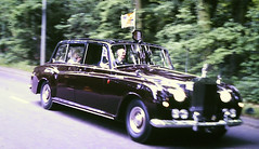 Slide 122-58 (Steve Guess) Tags: rolls royce queen mother ashley road epsom downs surrey england gb uk royal car